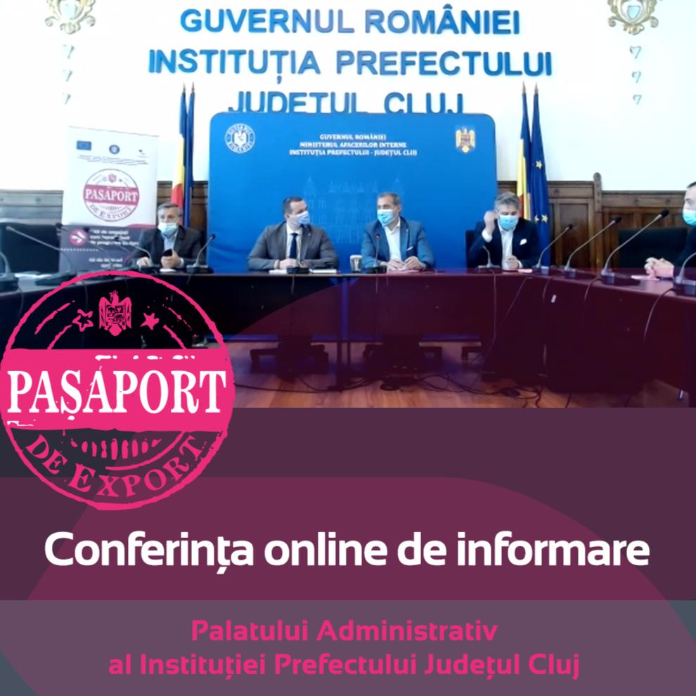 Conferinta de informare Pasaport de Export-Cluj